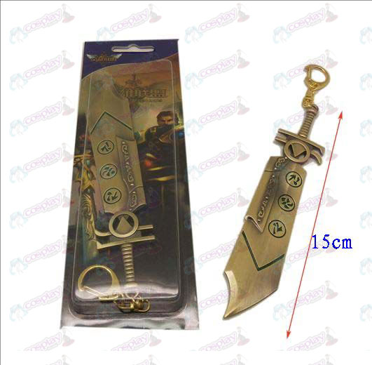 League of Legends Accesorios cuchillo hebilla 8 (Bronce)