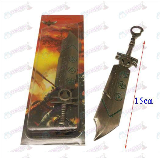 League of Legends Accesorios cuchillo hebilla 8 (color gun)