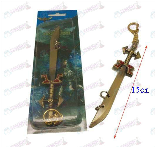 League of Legends Accesorios cuchillo hebilla 4 (cobre)