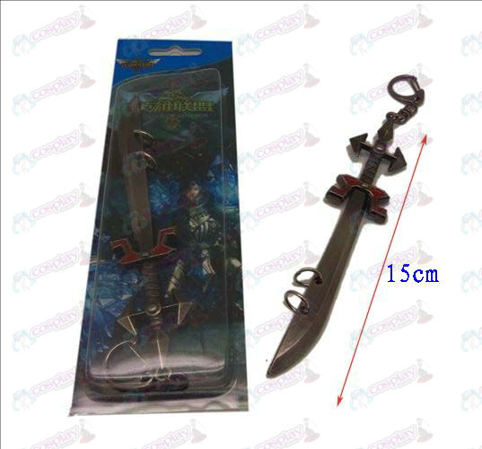 League of Legends Accesorios cuchillo hebilla 4 (color gun)