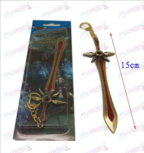 League of Legends Accesorios cuchillo hebilla 1 (Bronce)