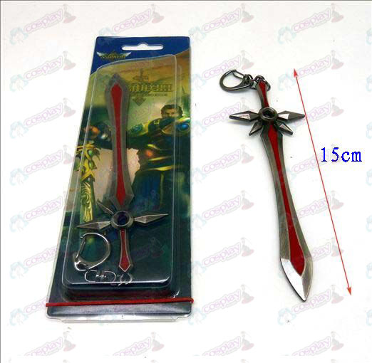 League of Legends Accesorios cuchillo hebilla 1 (color gun)