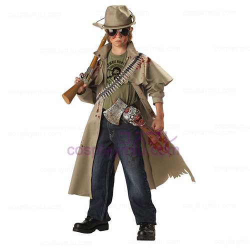 Zombie Hunter Child Disfraces