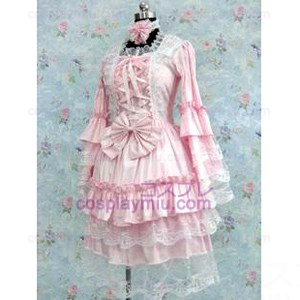 Tailor-made Pink Gothic Lolita Trajes Cosplay