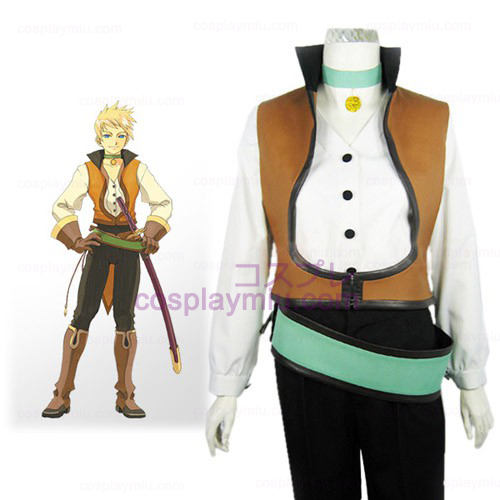 Tales of the Abyss Guy Cecil Halloween Trajes Cosplay