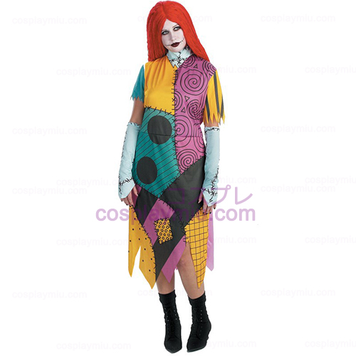 The Nightmare Before Christmas Sally Adult Plus Disfraces