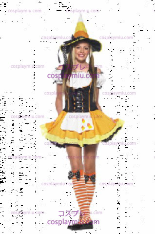 Candy Korn Witch Teen Sz.M/Lg