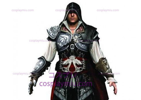 Assassin's Creed II Ezio Cosplay Negro Edition