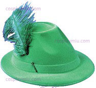 Tiene Alpine Green W/Feather