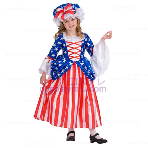 Deluxe Betsy Ross Child Disfraces