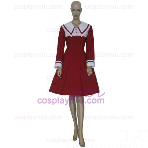Chobits Chii Red Vestidos Trajes Cosplay