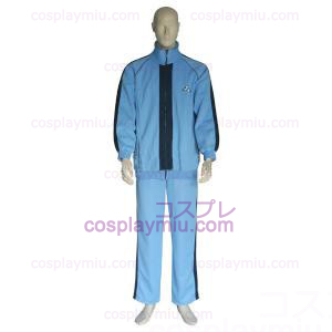 The Prince Of Tennis Jyousei Shounan Light Blue and Negro Trajes Cosplay