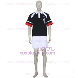 The Prince Of Tennis Fudomine Negro and White Trajes Cosplay