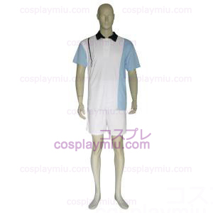 The Prince Of Tennis Hyotei Gakuen Light Blue and White Trajes Cosplay