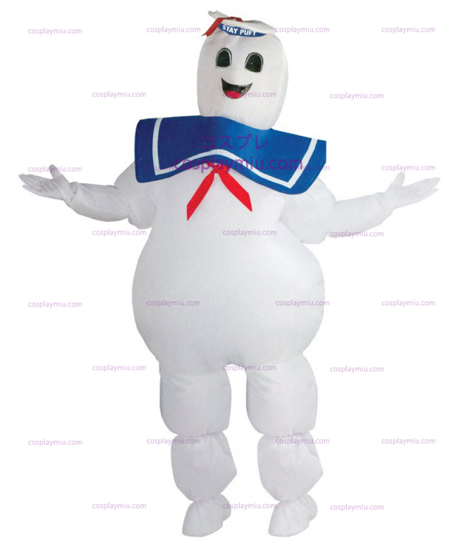 Ghostbuster Marshmallow Man Disfraces