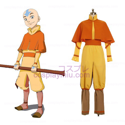 Avatar The Last Airbender Cosplay Aang Disfraces