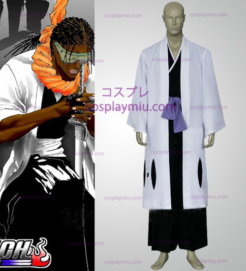 Bleach Captain Zaraki Kenpachi Trajes Cosplay - 11th Division