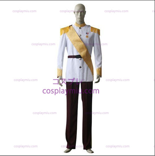 White shirt Red Trousers Trajes Cosplay