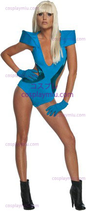 Dama Gaga Blue Swimsuit Xs
