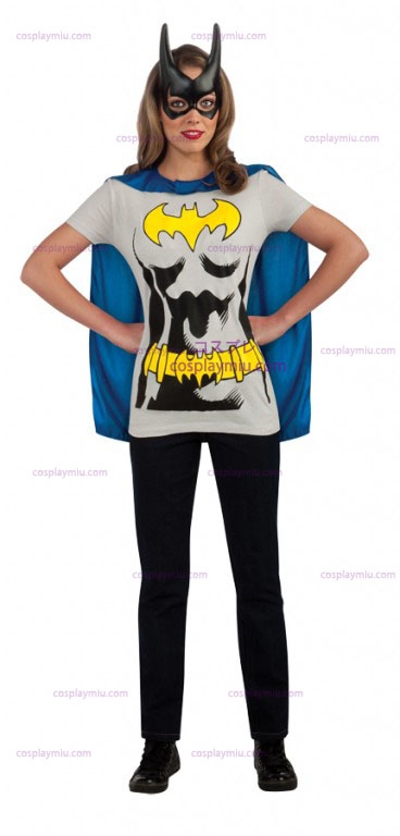 Bat Girl Sexy Adult Shirt Disfraces