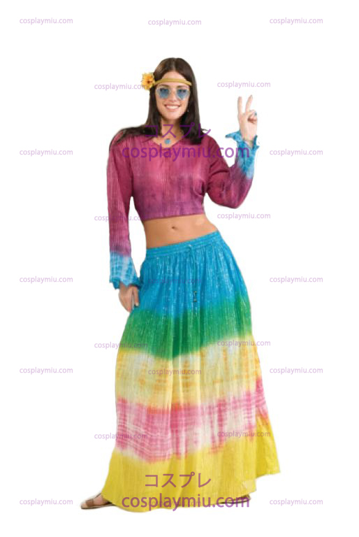 Tye Dye Adult Skirt