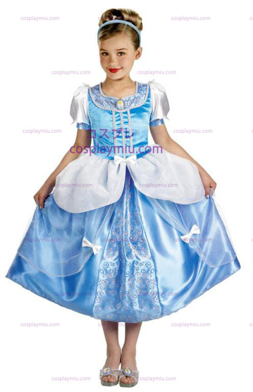Cinderella Deluxe Childrens Disfraces de Halloween in Size (4-6x)