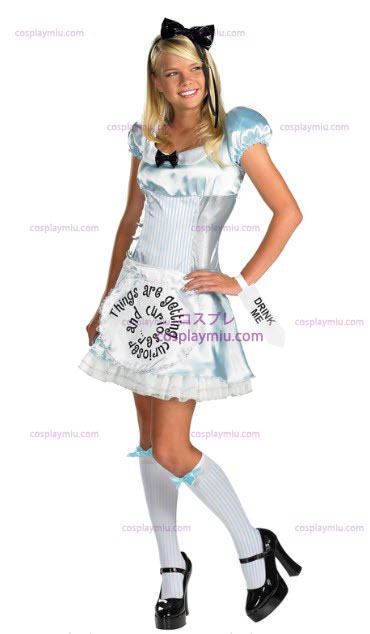 Alice in Wonderland Adult and Junior Disfraces