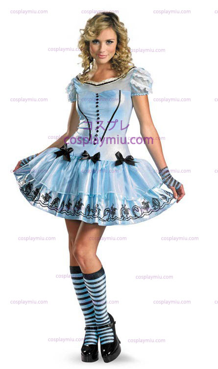 Sassy Blue Vestidos Alice Disfraces