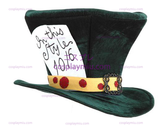 Alice In Wonderland The Madhatter Adult Tiene