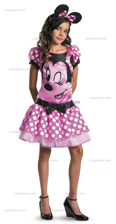 Clubhouse Minnie Mouse Pink Child Disfraces