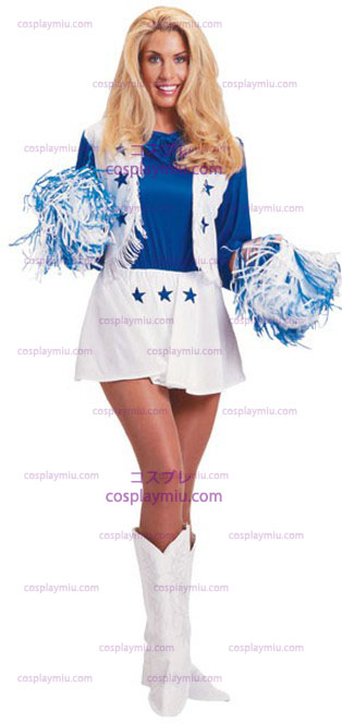 Dallas Cowboy Animador Adult Disfraces