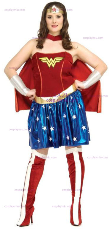 Wonder Woman Plus Size Adult Disfraces