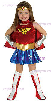Wonder Woman Toddler Disfraces