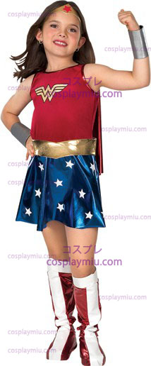 Wonder Woman Child Disfraces