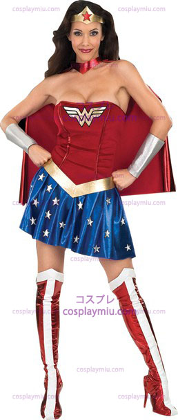 Wonder Woman Adult Disfraces
