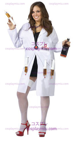 Sexy Dr. Shots Plus Size Disfraces