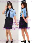 Sweet Police Disfraces of Shirt and Miniskirt
