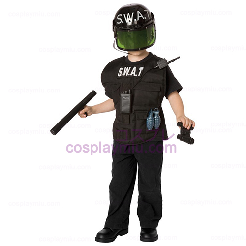 S.W.A.T. Officer Child Disfraces Kit