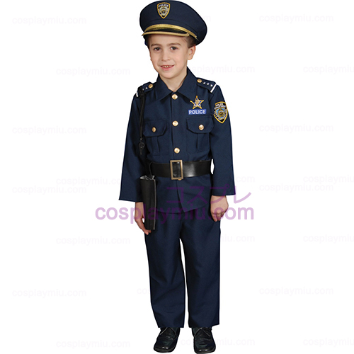 Police Officer Deluxe Toddler Disfraces