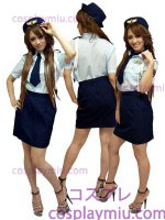 Cute Dama Police Disfraces Uniform