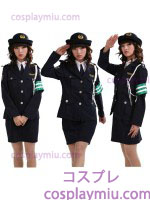 Handsome Dama Police Disfraces Uniforme