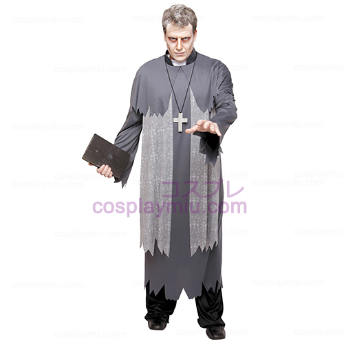 Father Phantom Priest Adult Plus Disfraces