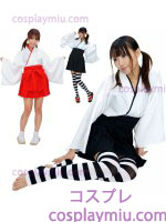 Long Sleeve Kimono Witch Gir Priest Disfraces