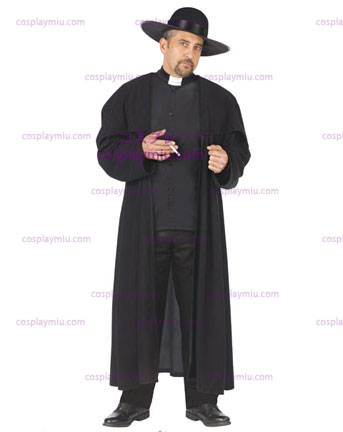 Mens Piazza Priest Disfraces