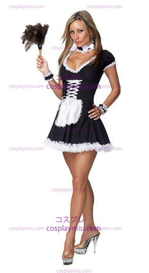 Sexy French Maid Adult Disfraces