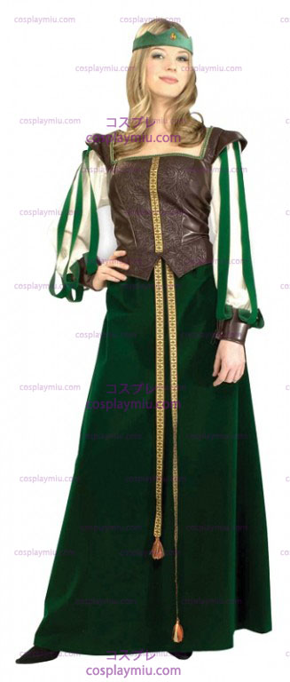 Green Maid Marian Adult Disfraces