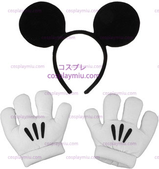 Mickey Ears/Gloves Set