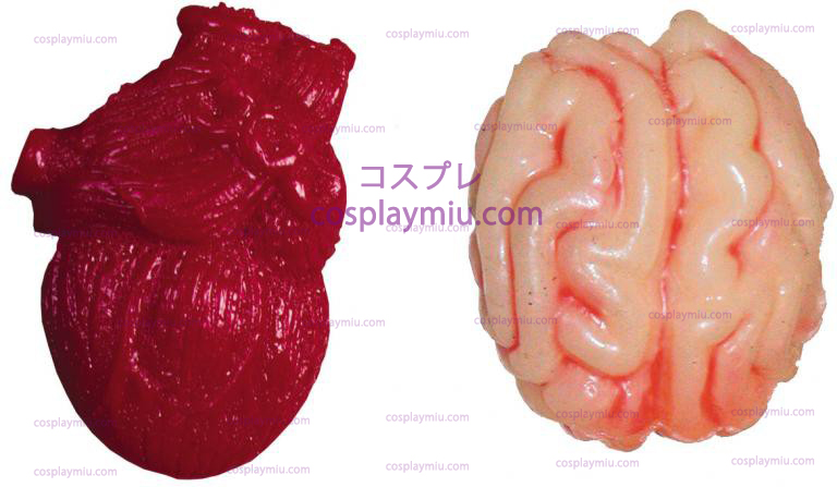 Mini Gooey Brain And Hearts