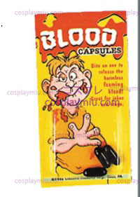 Blood Capsules,3 Per Card