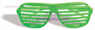 Gafas Slot Neon Green